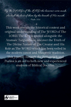 PREORDER The WORD of The LORD: A Comparative Analysis of the Hidden Memra