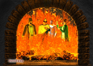 CanonQuest Series 2 Wall Art – The Fiery Furnace - sacred-word-publishing-2