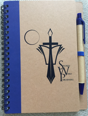 Spiral SWP Notebook with Pen - sacred-word-publishing-2