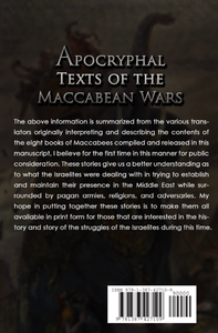 Apocryphal Texts of the Maccabean Wars Ebook
