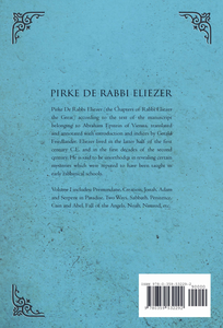 Pirke de Rabbi Eliezer, Volume I Ebook - sacred-word-publishing-2