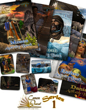 CanonQuest Series 1: Activity Bundle: 6 Books + 6 trading cards - sacred-word-publishing-2