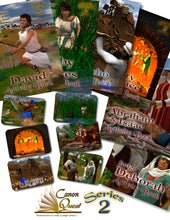 CanonQuest Series 2: Activity Bundle: 6 Books + 6 trading cards - sacred-word-publishing-2