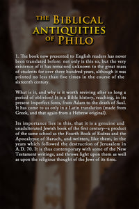 The Biblical Antiquities Of Philo Ebook - sacred-word-publishing-2