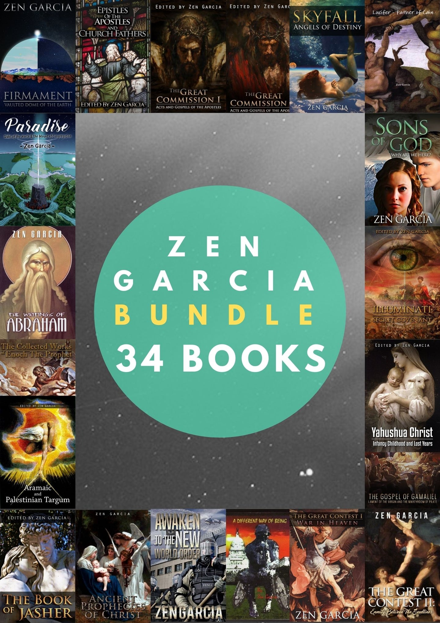 Zen Garcia Bundle - 34 Books