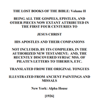 The Lost Books of the Bible Volume II Ebook