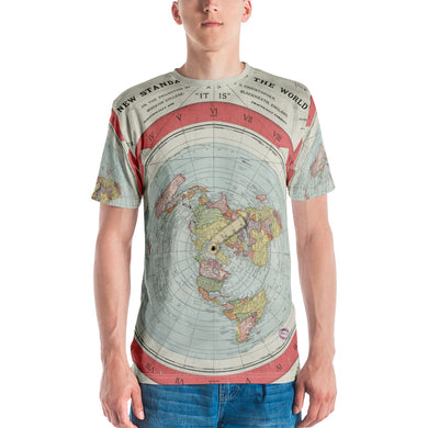Gleason Map All Over Men's T-shirt