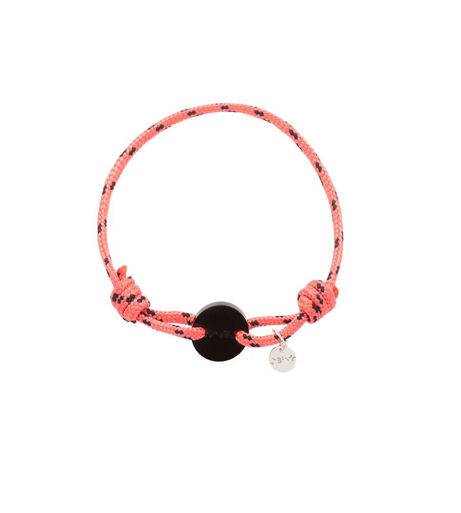 Bracelet Acrylic Orange & Black