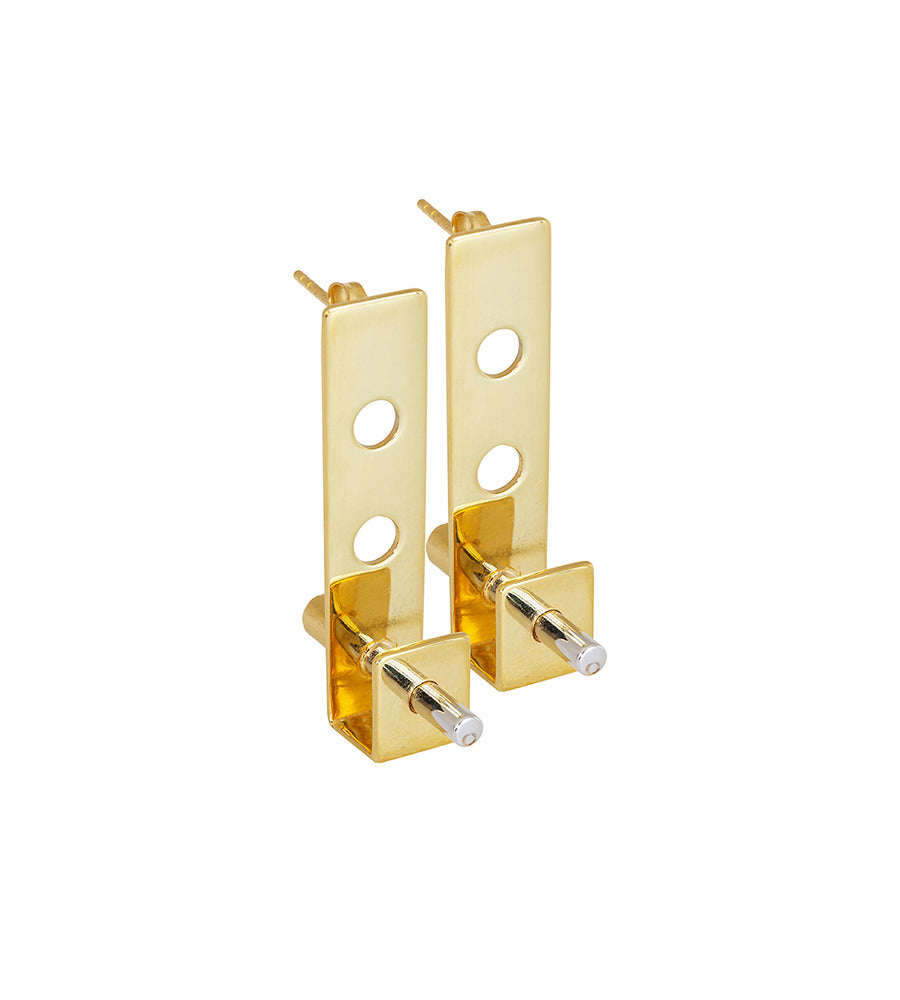 Pevsner earrings gold