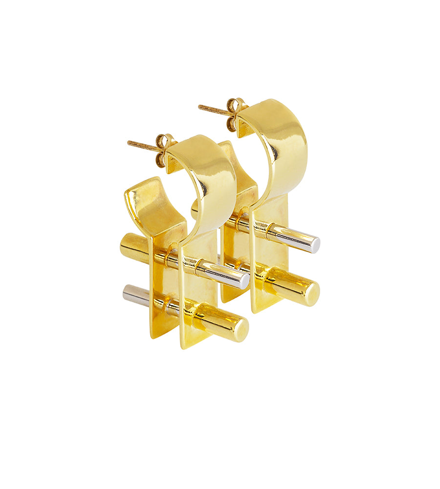 Stenberg earrings gold