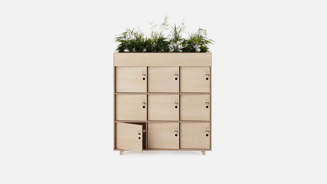 Fin Locker Planter