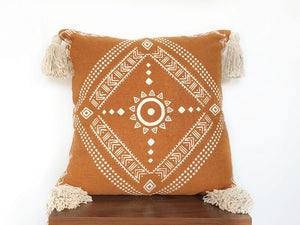 Handmade cotton Pillow cover from India