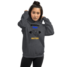 Load image into Gallery viewer, Workout Days Matter unisex hoodie