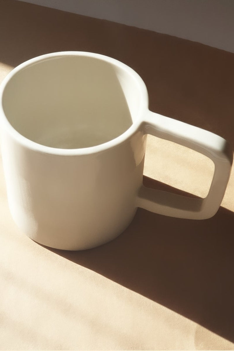 Ceramic Mug - Square Handle