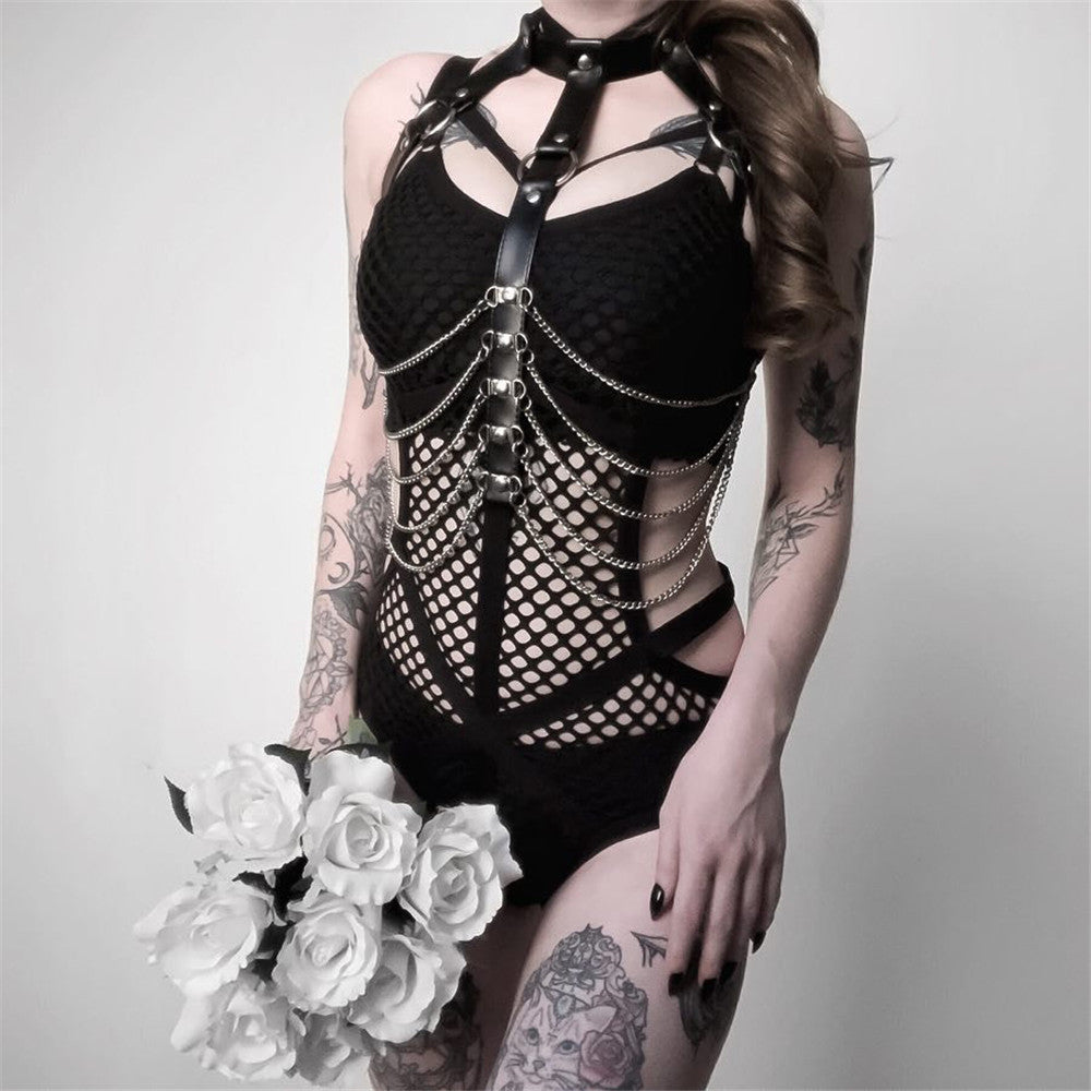 Body Chain Bralette Top Cage Body Harness