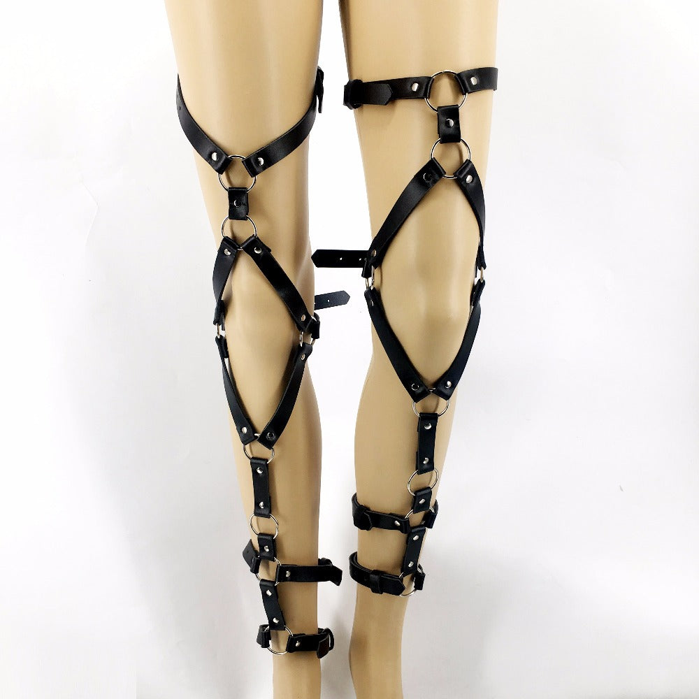 Leather Garter Leg Belts Sexual Harness