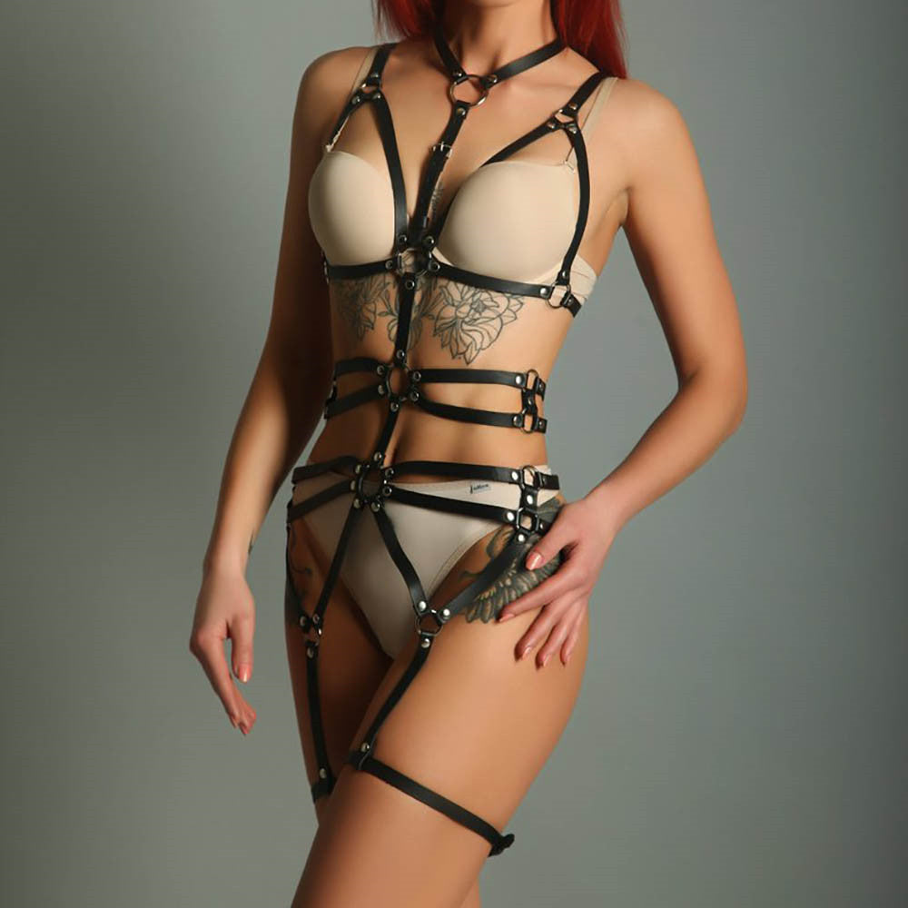 Leather Garter Sets Leather Suspenders