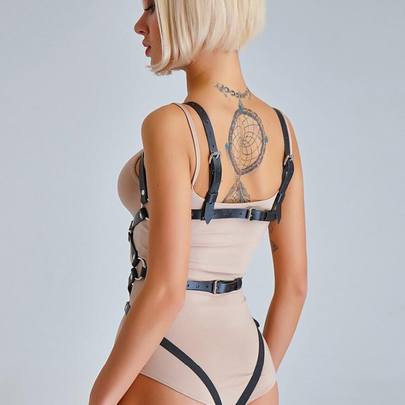 Leather Garters for Women Harness