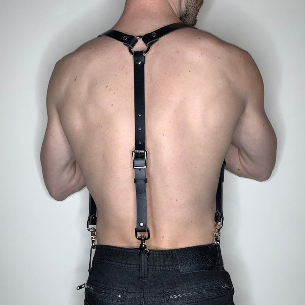 Shoulder Bondage Belt For Man Chest Harness