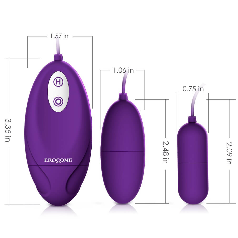 Silicone Vibrating Eggs Vaginal Ball