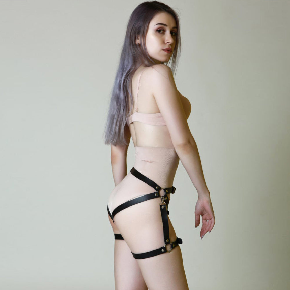 Women's Harness Belt For Stocking Garters