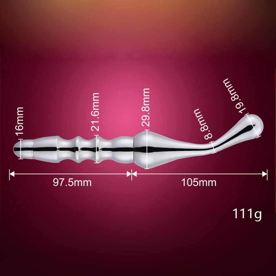 Gadgetlly Metal Prostate Massager
