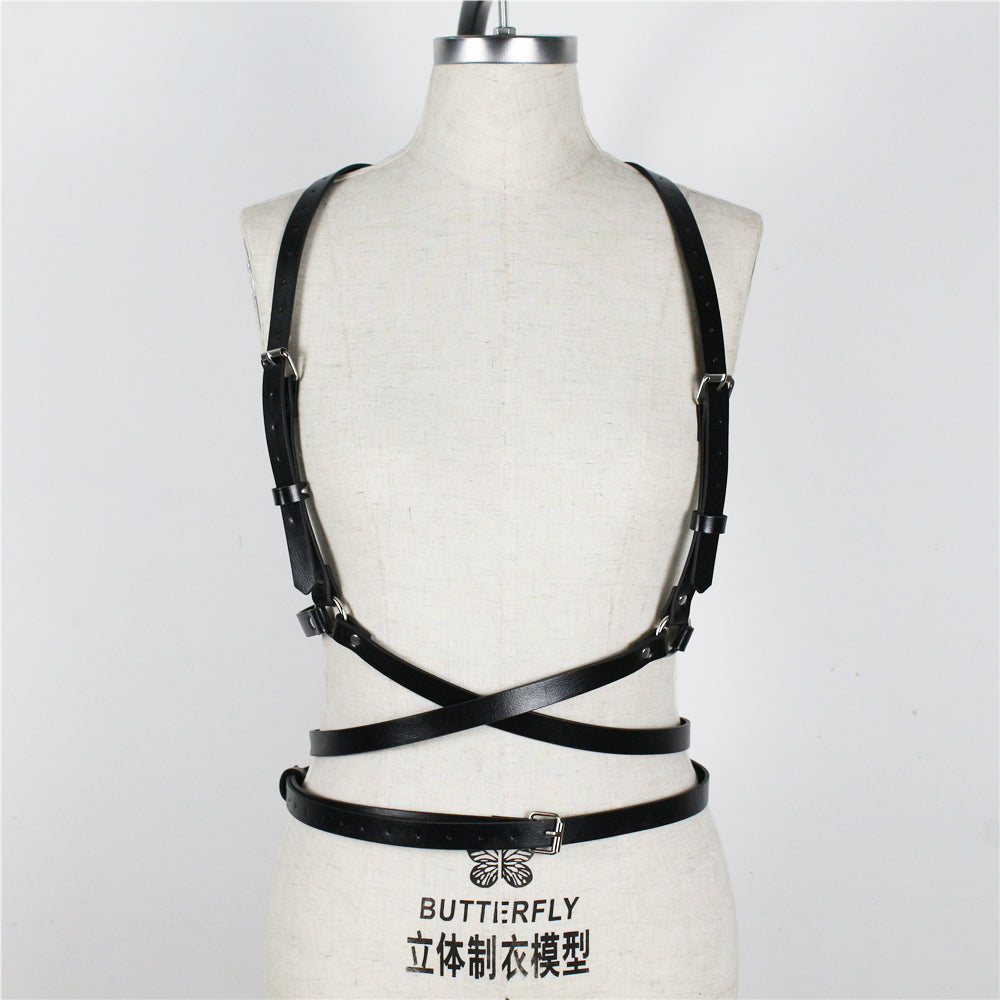 Harness Belts Gothic Trendy Shoulder Belts