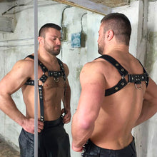 Load image into Gallery viewer, Harness Chest Bondage Shoulder Muscle Strap