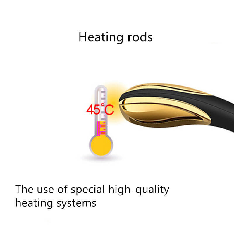 Heating 24K Gold G-spot Stimulation Vibrator
