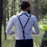 Men Bondage Sexy Belt Suspenders