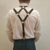 Men's Strap Belt Leather Gay Sexy Suspenders