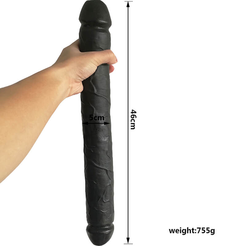 18.1 Inch PVC Double Sided Dildos
