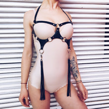 Load image into Gallery viewer, Sexy Tops Cage Bra Bdsm Bondage Harness