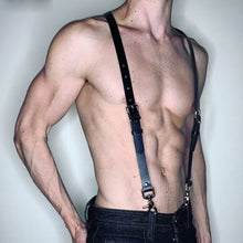 Load image into Gallery viewer, Harness Waist Muscle Strap Fetish Erotic Adjustable Belts