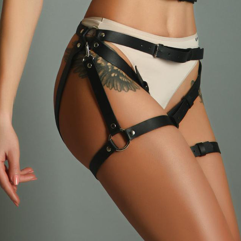 Women Adjustable Suspender Harness