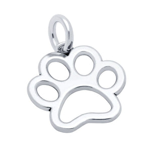 PAW PRINT OUTLINE CHARM