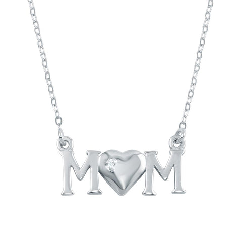 CZ MOM Necklace