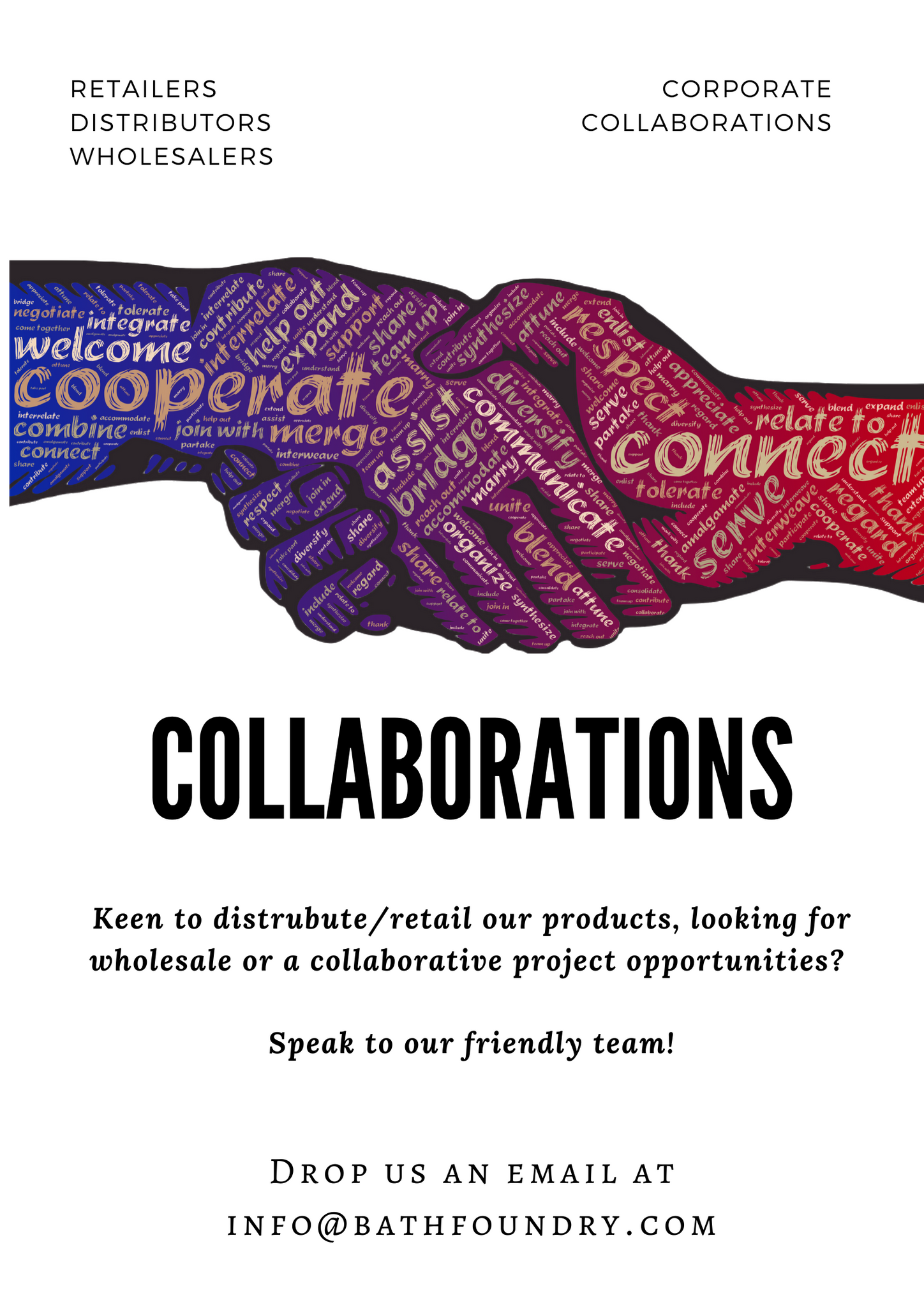 collaborations; retailers; distributors; wholesalers