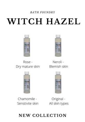 Witch Hazel 100ml | Clean ingredients | Infused with Floral Waters
