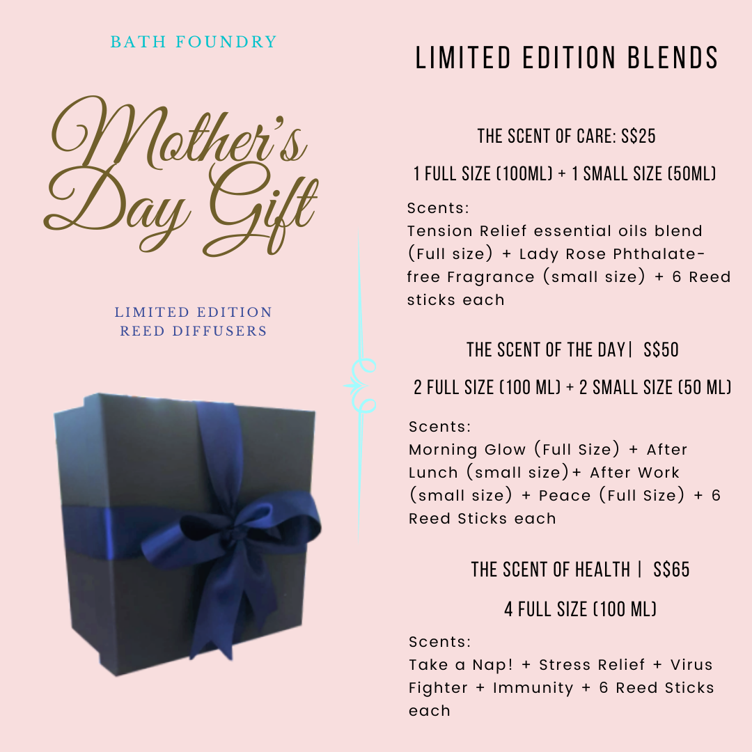 Mother's Day Reed Diffuser Limited Edition Gift Set (PRE-ORDER)