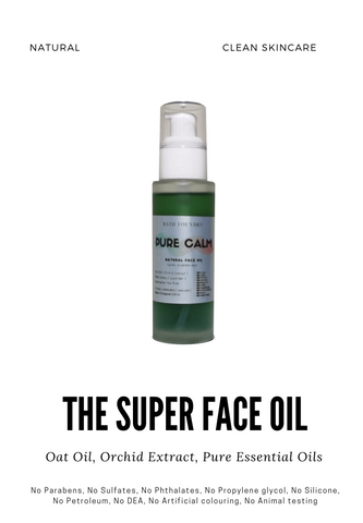 Face Oil 60 ml | Oat Oil Orchid Extract Vitamin E