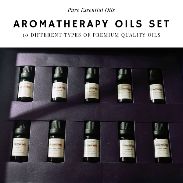 10pc Pure Essential Oils Christmas Gift Set (10 x 10ml)