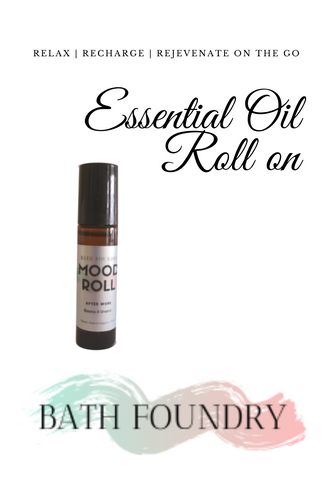 All Natural Daily Aromatherapy Mood Rolls - On the Go / Travel size Aromatherapy