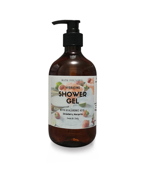 Hydrating Shower Gel (500ml) with Hyaluronic Acid. Available in 10 scents