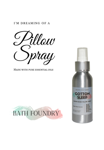 Pillow Spray with Pure Essential Oils Blends
