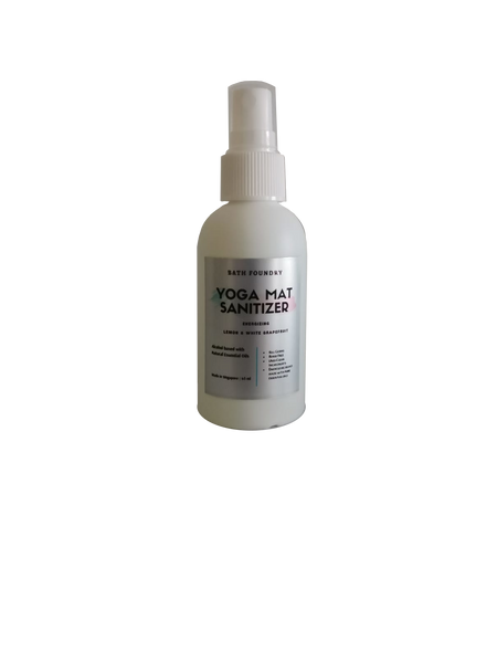 Yoga Mat Sanitizer (65 ml) | Sports Sanitizer | Alcohol based (75%) | 9 scents available