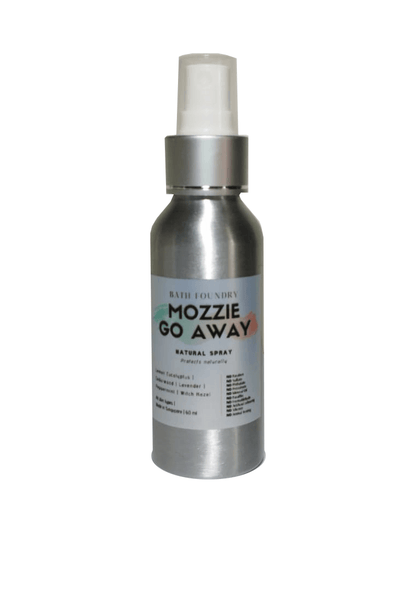 Mozzie Go Away Natural Body Spray 100 ml | Helps naturally repel mosquitoes