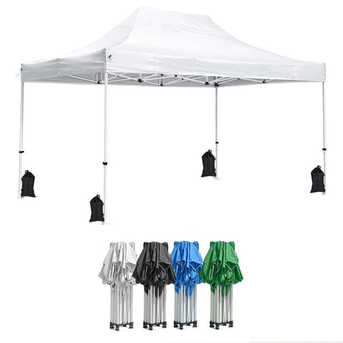 InstaHibit Pop Up Canopy Comml. Insta Tent 10x15 CPAI-84