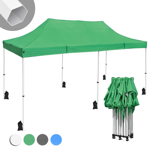 InstaHibit Pop Up Canopy Comml. Insta Tent 10x20 CPAI-84