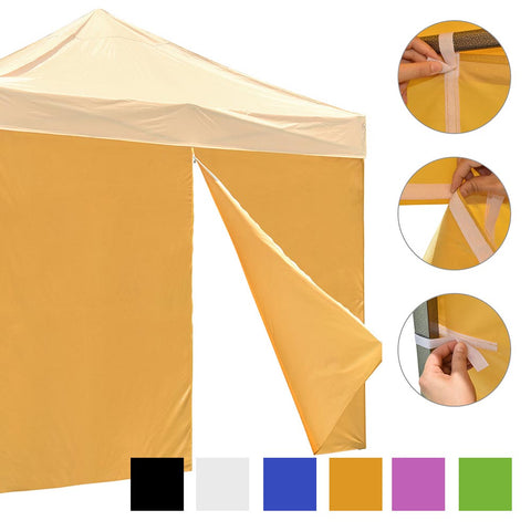 InstaHibit Canopy Sidewall with Zipper for Pop Up Canopy